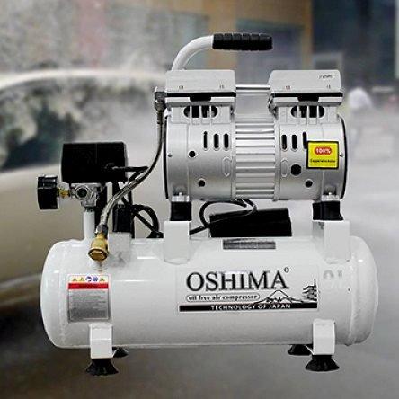 Máy bơm hơi Oshima không dầu