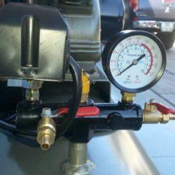 Điều chỉnh van áp suất của máy bơm hơi trực tiếp phù hợp với công việc