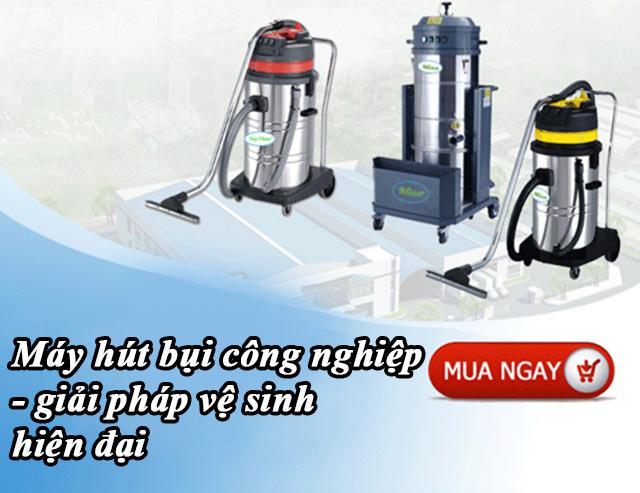 Máy hút bụi công nghiệp dần trở thành thiết bị vệ sinh được sử dụng nhiều nhất hiện nay