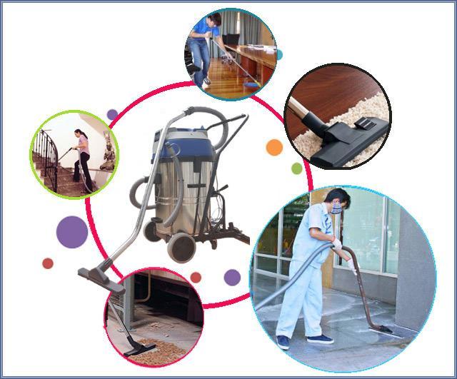 Một số ứng dụng của máy hút bụi công nghiệp