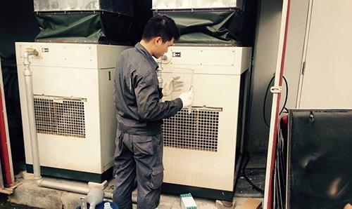 kiểm tra các sản phẩm máy sấy khô khí nén jmec