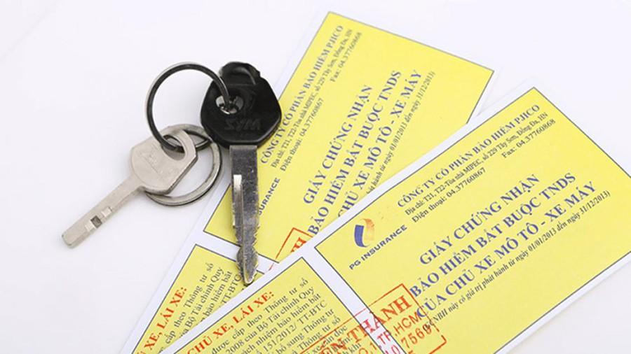 Bảo hiểm xe máy là loại giấy rất hay bị quên khi tham gia giao thông