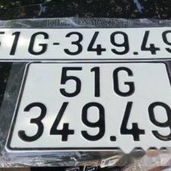 Bản dịch biển số xe