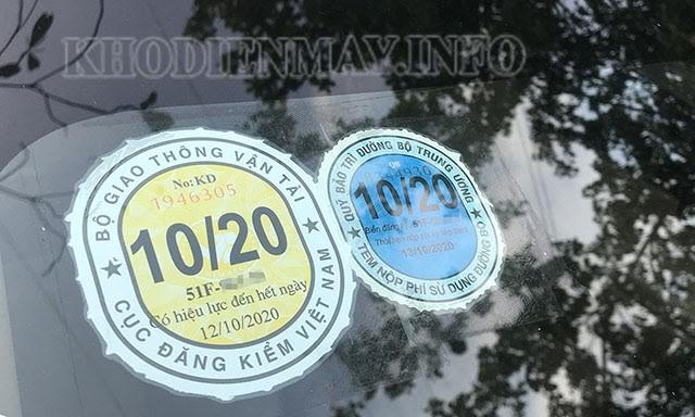 Thời hạn đăng kiểm xe ô tô mới
