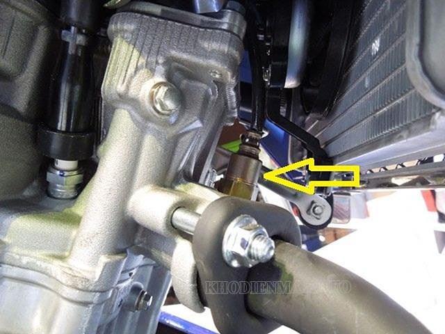 Cảm biến khí thải xe máy